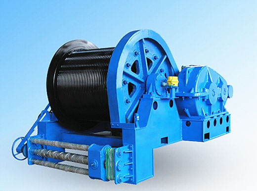 winch for construction