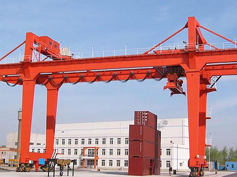 heavy duty quay gantry crane for sale