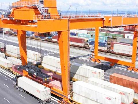 rail mounted quay gantry crane for sale