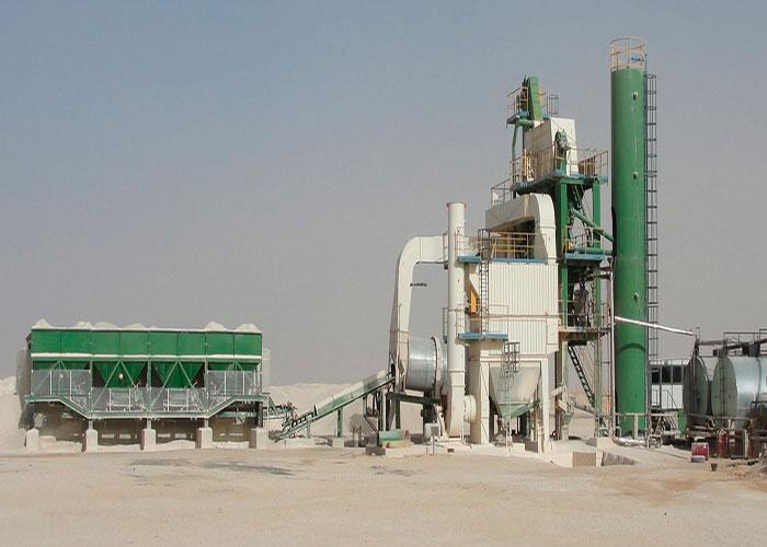 asphalt batch mixing plant